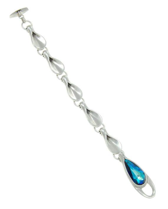 Pulsera plata fine blue shovel
